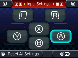 Altered Beast Input Settings