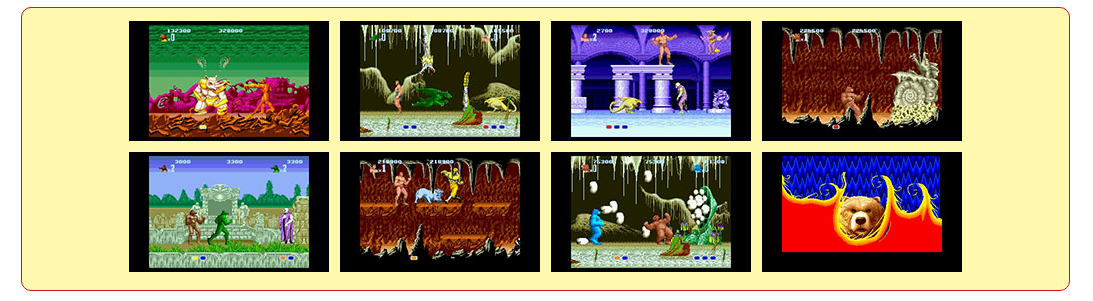 Altered Beast Screens