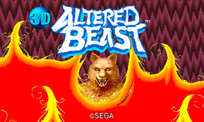 Altered Beast Title