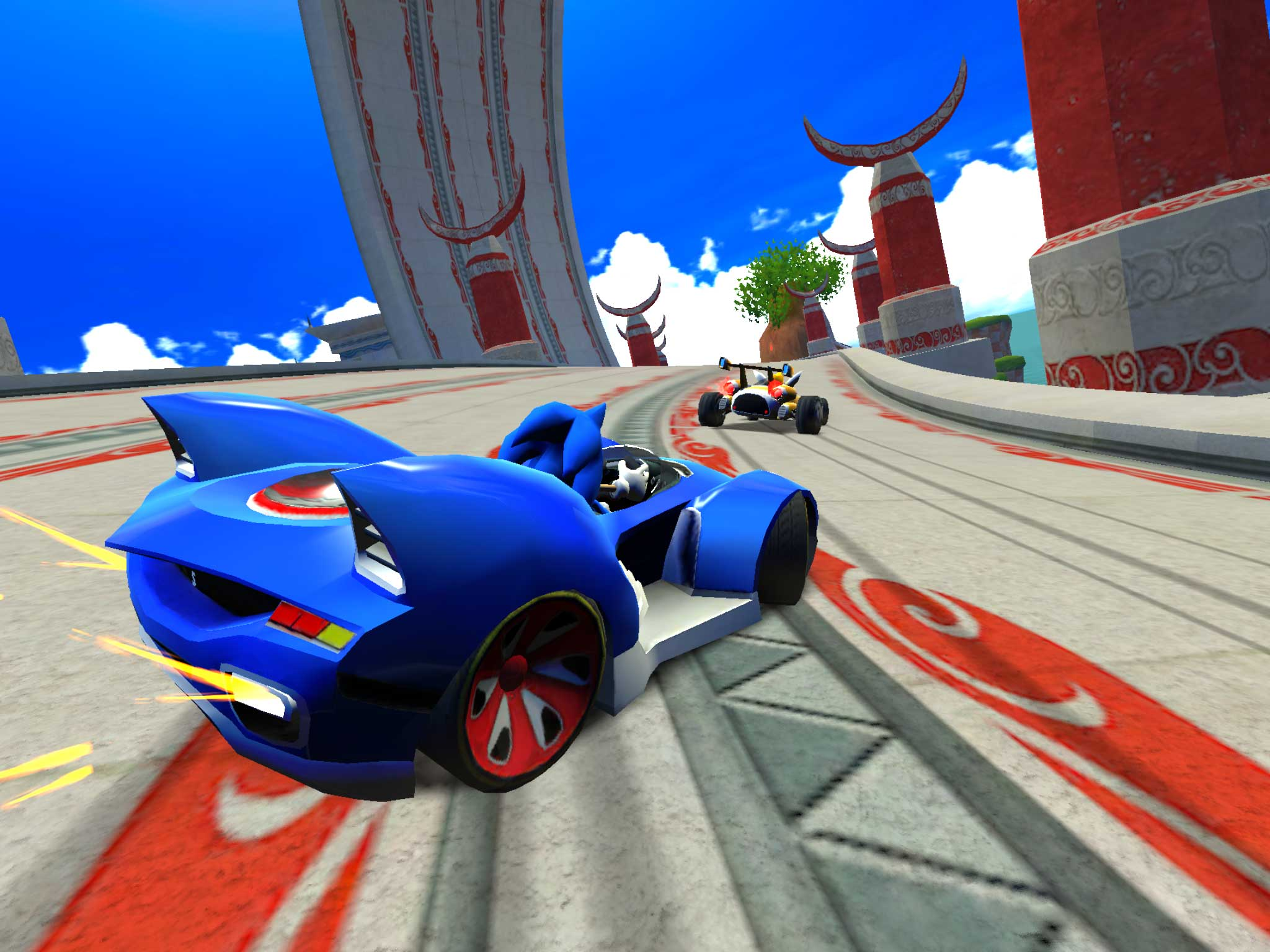 Sonic The Hedgehog Car Racing Games