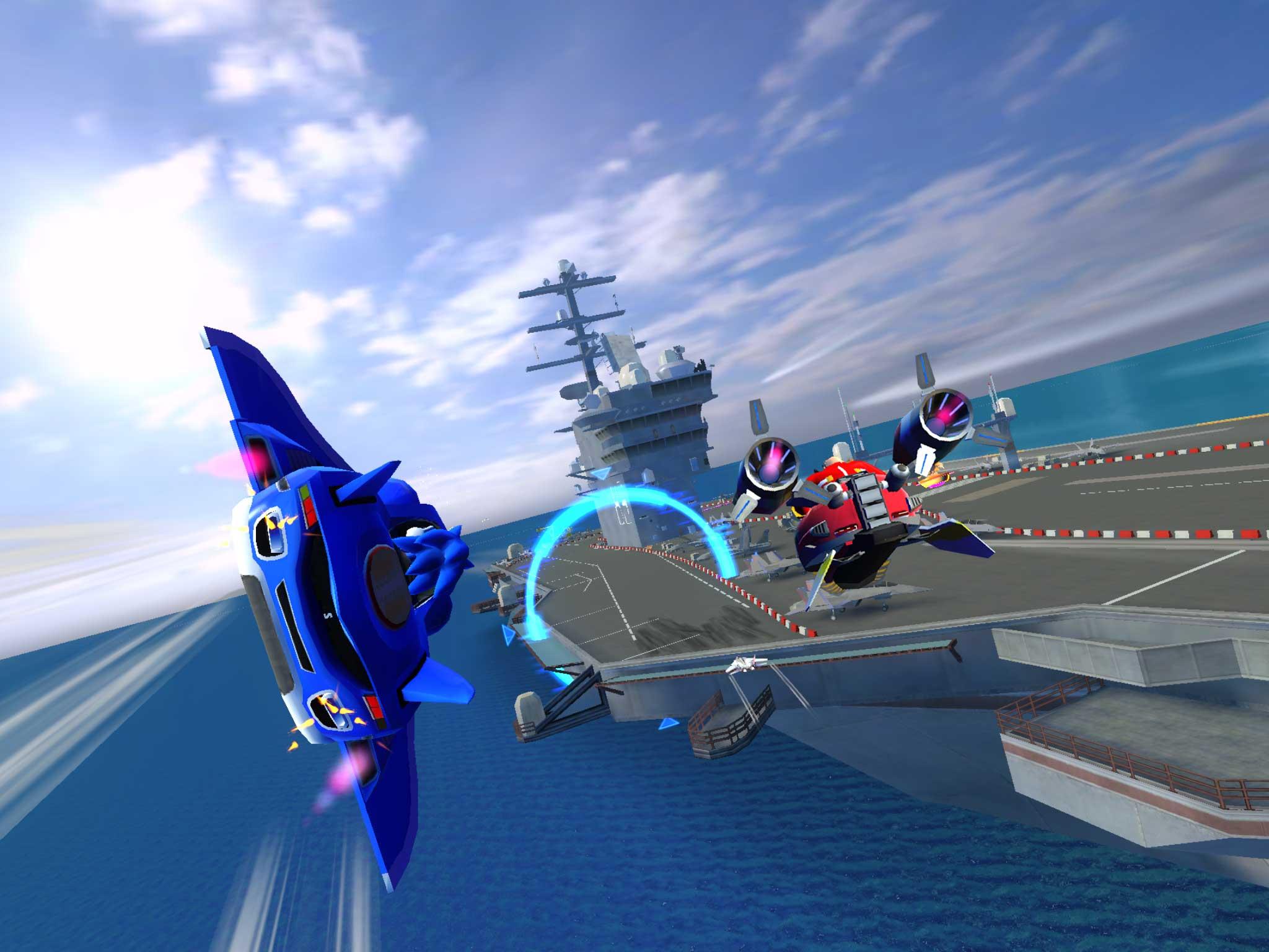 Sonic Racing Transformed Cars