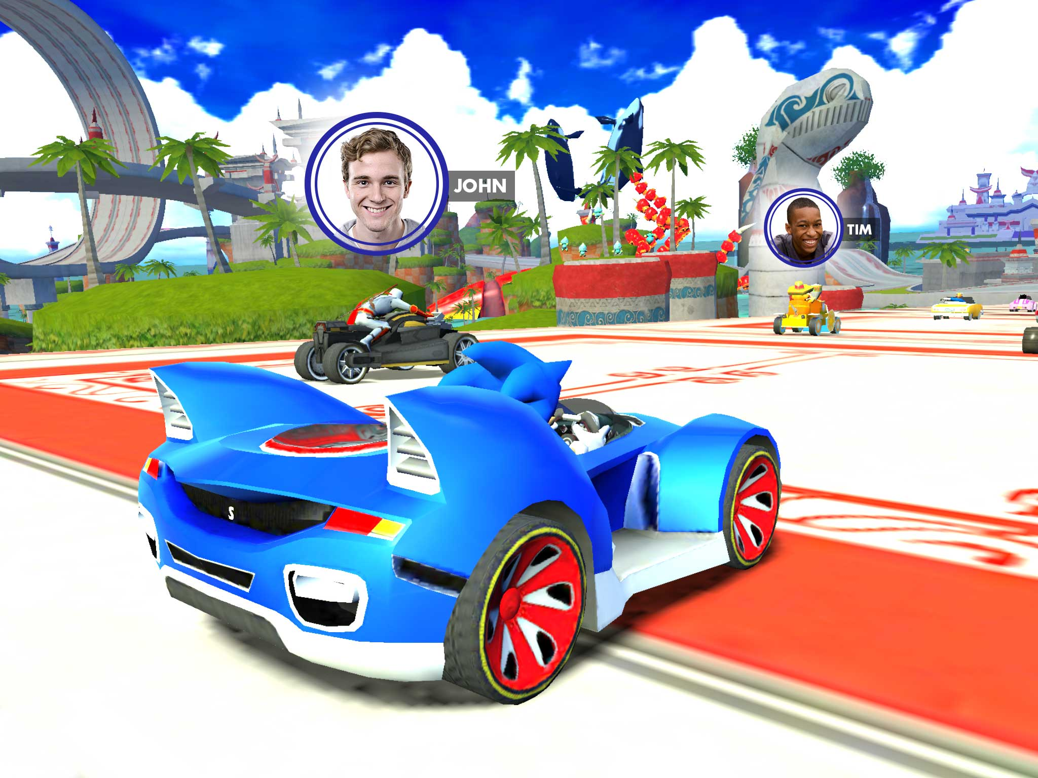 Sonic Racing Transformed Cars