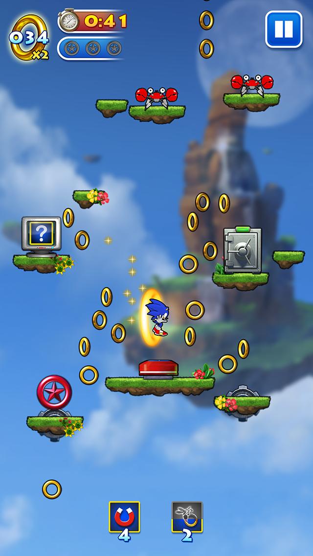 Sonic jump sega - Jeu info sonic ...