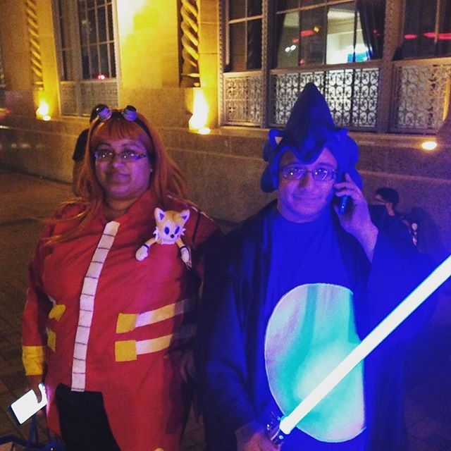 Jedi Sonic #cosplay #sonic25thanniversary #sega #sdcc2016