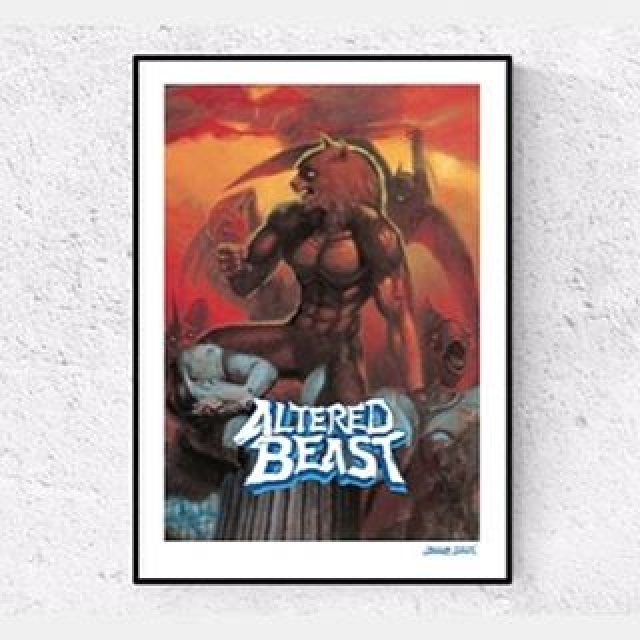 This limited edition Altered Beast #Giclee Art Print is available at Zavvi for 72 hours only! Link in bio! #sega #retro #videogames #gamer #gamerlife