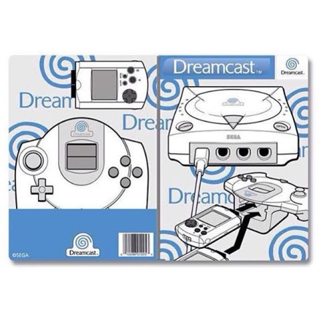 Going on holiday soon? Check out this #dreamcast passport holder - link in bio. #sega #traveltuesday #forbiddenplanet