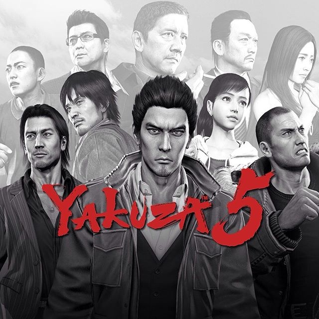 Yakuza 5 will be free for PS Plus users next month! Are you ready... #sega #yakuza