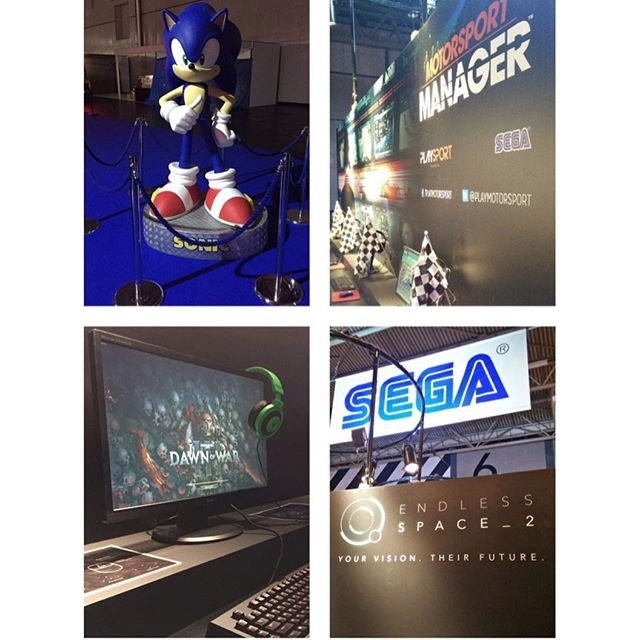 Heading to #egx this week? Check out these great #sega games and more... #egx2016