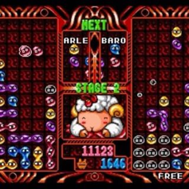 Puyo Puyo 2 was originally only available to play in arcades - now it's coming on November 4th as part of the #SEGA 3D Classics Collection. #videogames #nintendo3ds #puyopuyo2