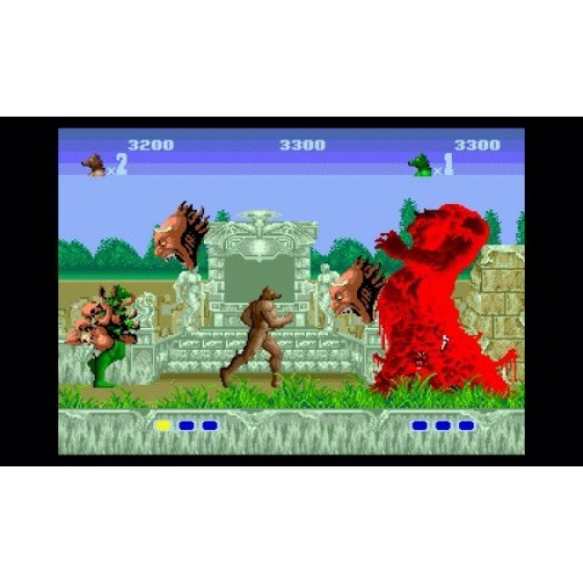 Rise from your grave! Altered Beast is part of the #SEGA 3D Classics Collection coming November 4th #nintendo3ds #videogames #alteredbeast