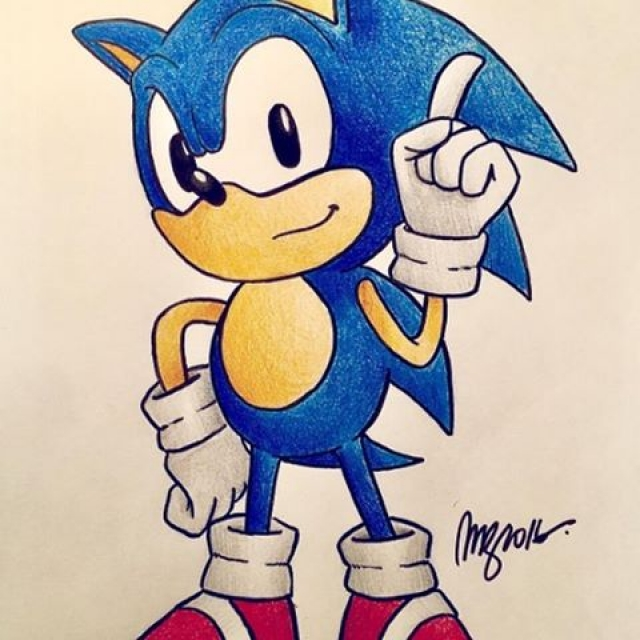 Today's fan art : @mzamoramerino (tag your fan art for a chance to be featured!) #sonic #sega #videogames #fanart