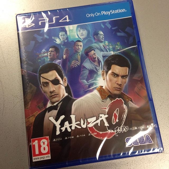Soon... Get ready to enjoy that new box smell on 24.01.2017 #yakuza0 #sega #playstation4 #ps4 #gamerlife #videogames