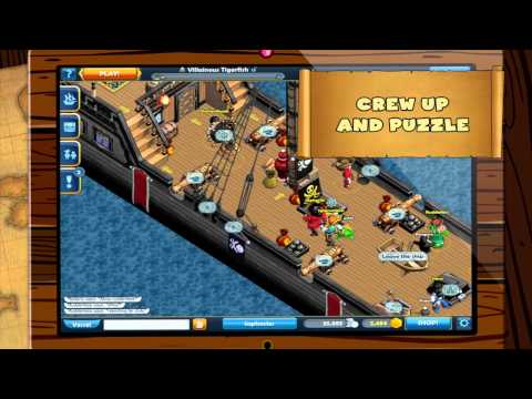 Embedded thumbnail for Puzzle Pirates™